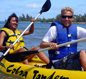 kayaking, ocean activities, things to do oahu