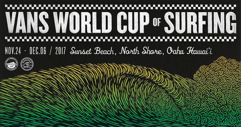 3c805f0677dfdd VANS WORLD CUP OF SURFING 2017. November 25 to December 6
