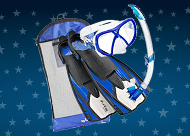 Selected Mask & Fin Snorkel Sets Clearance Photo